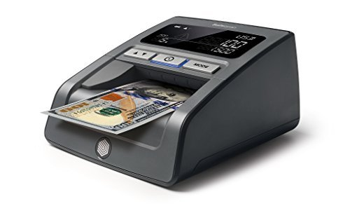 Safescan 185-S counterfeit bill detector - multi direction automatic counterfeit detector