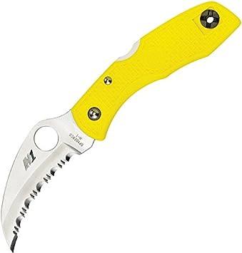 Spyderco C106SYL - Cuchillo (57 g, 17,3 cm, 10,2 cm, Acero ...