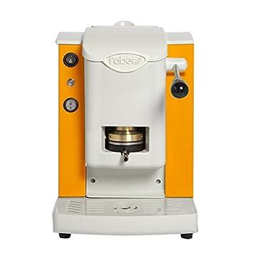 Faber Italia Faber Slot Plast máquina de café de monodosis ESE 44 mm - Color Naranja con acabado gris: Amazon.es: Hogar