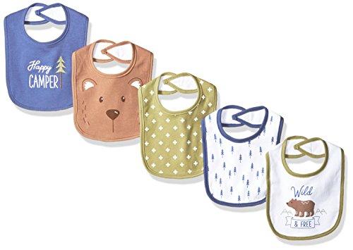 Hudson Baby Unisex Cotton Bibs product image