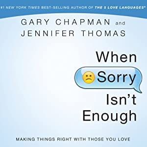 When Sorry Isn't Enough Audiobook