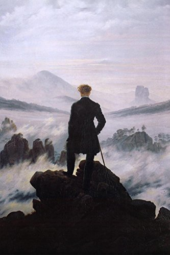 Caspar Friedrich Wanderer Above the Sea of Fog ArtPoster - 2
