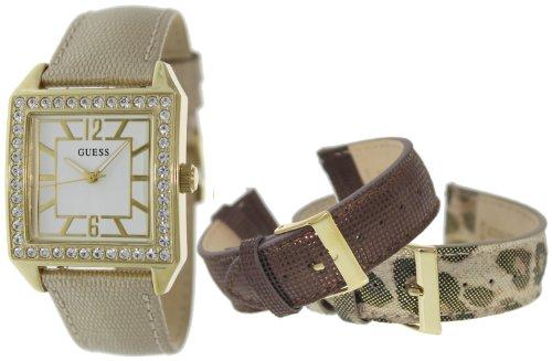 Guess U0068L2 Gold/Leopard/Lizard Watch Set, GOLD