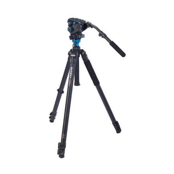 RetinaPix Benro Mg-Aluminium Tripod with Video Head
