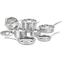 Conair MCP-12N MULTICLAD PRO TRIPLE PLY STAINLESS 12 PC SET