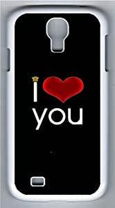 Samsung Galaxy S4 Case Customized Unique I Love You Cover For Samsung Galaxy S4 I9500