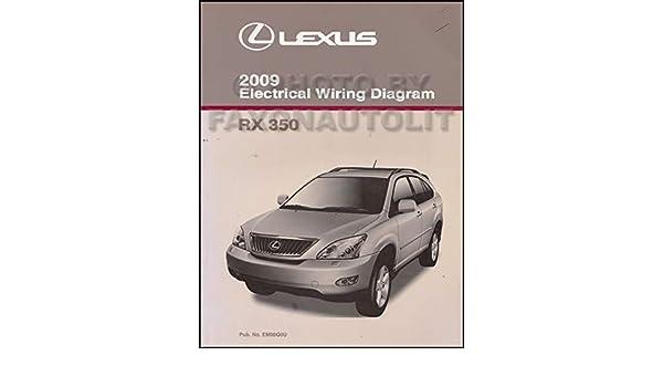 lexus rx wiring diagram 2009 lexus rx 350 wiring diagram manual original lexus amazon  2009 lexus rx 350 wiring diagram manual