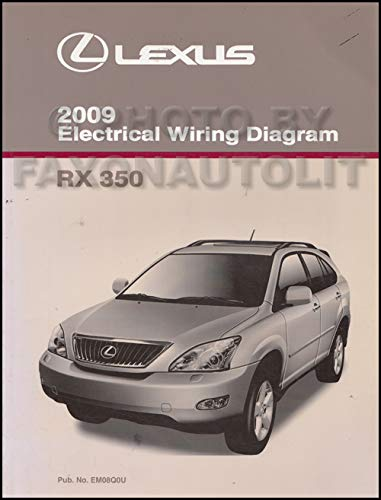 [TVPR_3874]  2009 Lexus RX 350 Wiring Diagram Manual Original: Lexus: Amazon.com: Books | Lexus Is 350 Wiring Diagram |  | Amazon.com