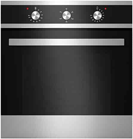 Empava 24 Stainless Steel Built-in NG//LPG Convertible Broil//Rotisserie Function Under Counter Gas Single Wall Ovens EMPV-24WOD04-LTL
