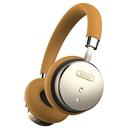 BÖHM Bluetooth Wireless Noise Cancelling Headphones with Inline Microphone