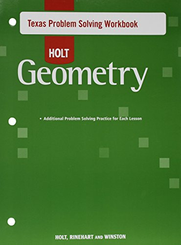 Geometry Texas Problem Solving Workbook