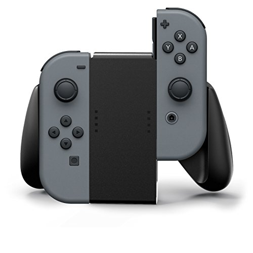 PowerA Joy-Con Comfort Grips for Nintendo Switch  Black