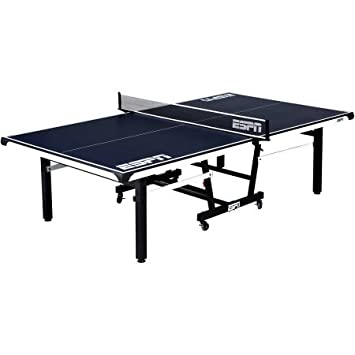 Amazing ESPN 2 Piece Table Tennis Table With Table Cover