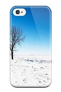 2788214K31794929 New Arrival Premium Iphone 4/4s Case(alone In Snow)