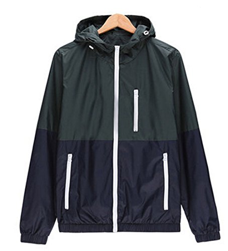 Zip Front Mens Windbreaker - 2
