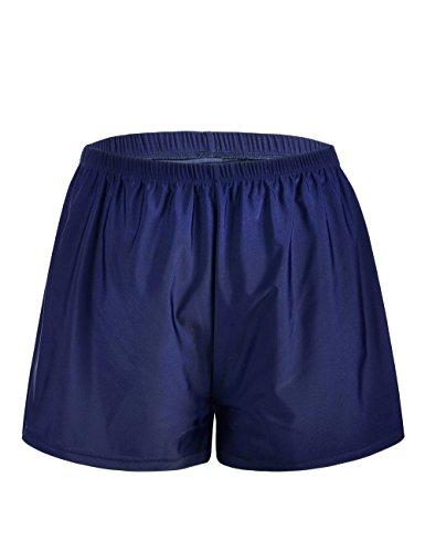 Firpearl Women's Swim Board Shorts Sport Boyleg Trunk Swimwear Bottom Light Blue - Suit Bathing In Lady
