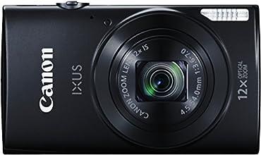 Canon IXUS 170 Fotocamera Compatta Digitale, 20 MP, Nero