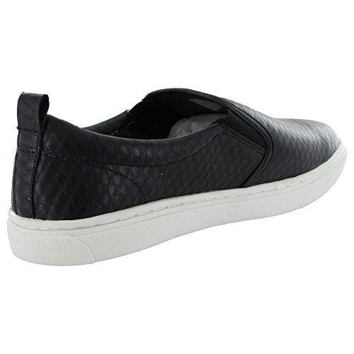 Steve Madden Madden By Heren M-halpur Slip Op Sneaker Schoen Zwart Multi