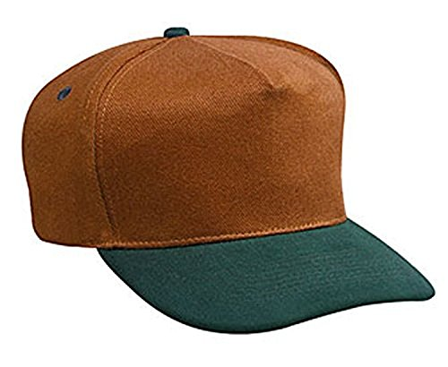 Hats   Caps Shop Brushed Bull Denim Low Crown Golf Style Caps   Dk Grn Dk Crml   By Thetargetbuys