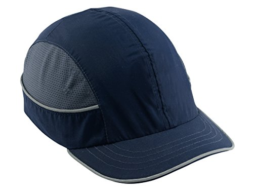 Safety Bump Cap, Baseball Hat Style, Comfortable Head Protection, Short Brim, Skullerz 8950