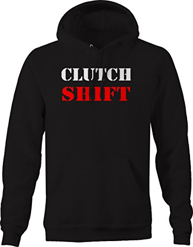 OS Gear Clutch Shift - Racing Garage Muscle Car Import American Sweatshirt - Medium (Clutch Sport Muscle)