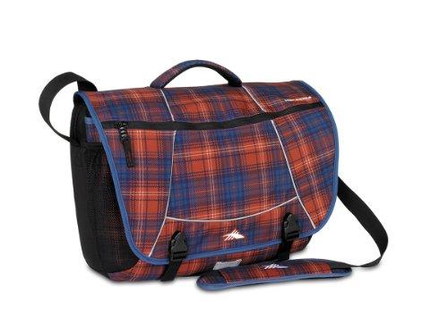 High Sierra 1825-Cubic Inches Tank Messenger Bag (Flannel Plaid, Black) (Flannel Sierra)
