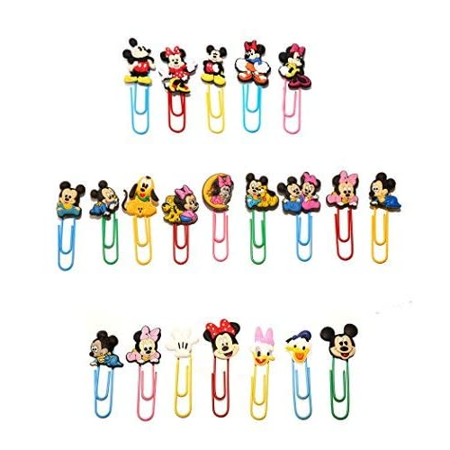 AVIRGO 21 pcs Bookmark Paperclip...