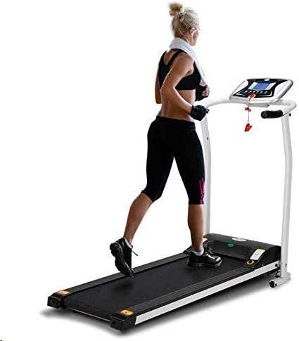 LONTEK Electric Treadmill - Cinta de Correr Plegable (0,8-10 km/h ...