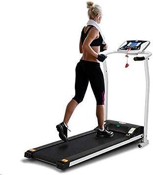 LONTEK Electric Treadmill - Cinta de Correr Plegable (0,8-10 km/h ...