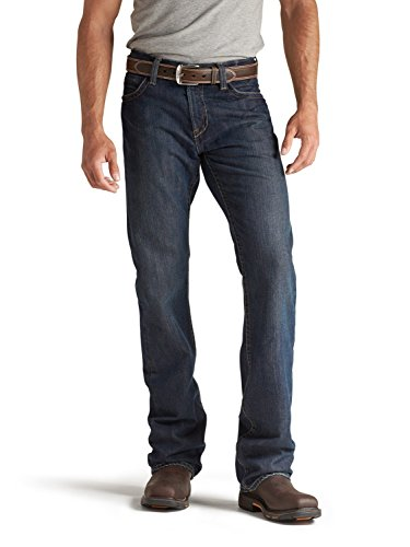 Ariat Men's Shale Fire Resistant Bootcut Work Jeans Denim 34W x 32L by Ariat