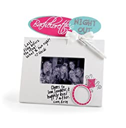 Mud Pie Bachelorette Autograph Frame with Marker
