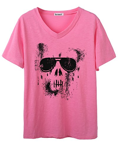 So'each - Camiseta - para mujer Rosa