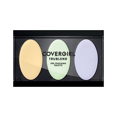 COVERGIRL Trublend Pre-Touching Color Correcting Palette, Warm, 0.16 Pound (packaging may vary)