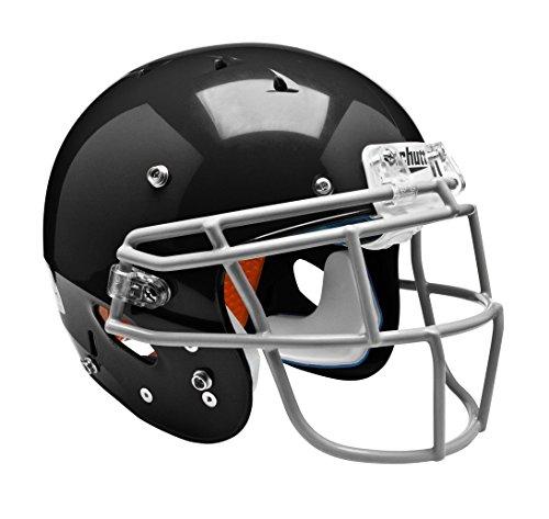 (Schutt Sports Youth FB Recruit Hybrid Plus Helmet, Black, Medium)
