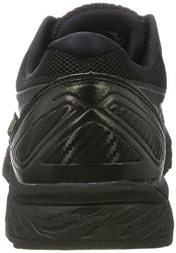 Asics Gel-Fujitrabuco 6 G-TX, Scarpe da Trail Running Uomo Nero (Black/Black/Phantom)