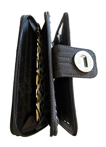 Black Vera Wallet Bradley Classic Turnlock wwa1qX