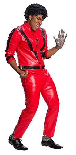 Charades Michael Jackson Adult Costume, Multicolored, X-Small ()