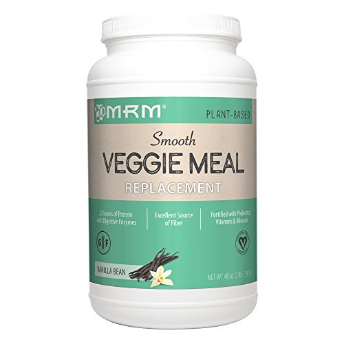 MRM - Veggie Meal Replacement, All Natural Meal in One Scoop, $2 Off During January (Vanilla Bean, 3 lbs) Vegan Meal Replacement