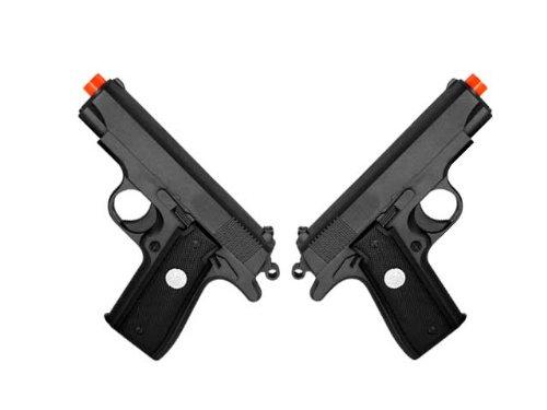 BBTac G2-(x2) Dual Spring 240 FPS Airsoft Gun (2-Pack) ()