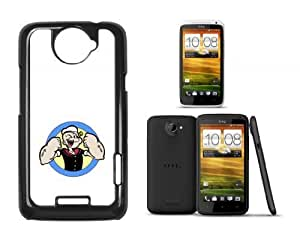 HTC ONE X Hard Case With Printed Design Popeye White