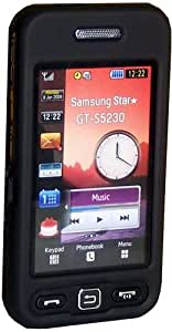 Mobile: instyle negro Cystal para Samsung S5230