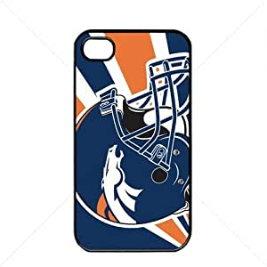 iphone covers NFL American football Denver Broncos Fans Apple Iphone 5 5s TPU Soft Black or White case (Black)