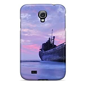 New Arrival Shipwreck In Beautiful Sea Sky For Galaxy S4 Case Cover