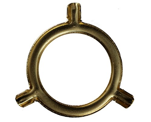 Antique Brass Spider (B&P Lamp 3-Way Uno Bridge Adapter, Brass Plated & Lacquered)