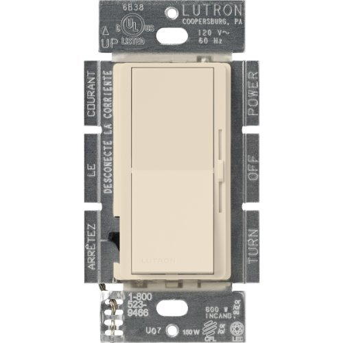 Lutron DVCL-153P-LA Diva Dimmable CFL/LED Dimmer,