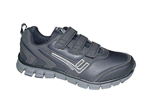 Mens Shoe Killtec BRANE VELCRO 29731-000 negro 40 41 42 43 44 45 46 schwarz