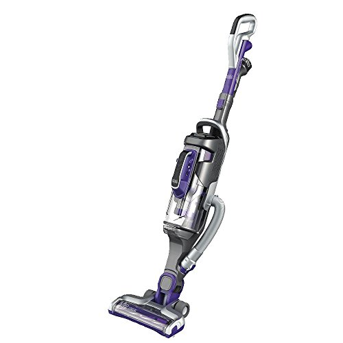 BLACK+DECKER POWERSERIES PRO Pet Cordless Stick Vacuum, 2-in-1, Purple (HCUA525JP)