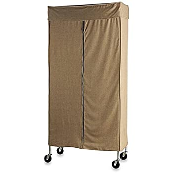 Amazon Com Commercial Grade Garment Rack With Tweed Cover