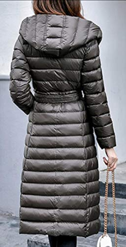 Long Coat Plus Light Hooded Double EKU Down 1 Breasted Utral Women's Warm Jacket Fqf8P