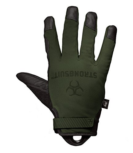 StrongSuit 41200-XL Q Series Tactical Glove, X-Large, Sage by (41200 Series)